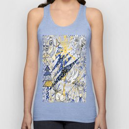 Winter Mod Limited Color Palette Unisex Tank Top