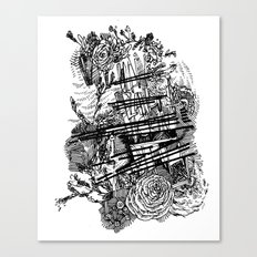 Poetry Canvas Print
