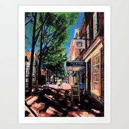 Lovers, C-ville, VA Art Print