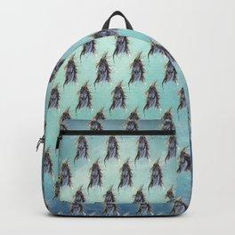 blue horse Backpack