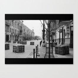Vilnius moment Canvas Print