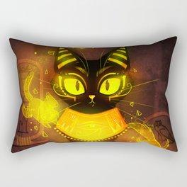 Bastet- the Goddess of Cats Rectangular Pillow