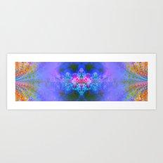 Fractal Burst III Art Print