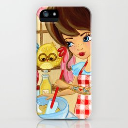 Tweets and Treats iPhone Case