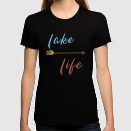Lake Life - Summer Camp Camping Holiday Vacation Gift T-shirt