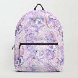 Hula Hibiscus Washout Backpack