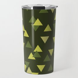Triangles of Moss Travel Mug