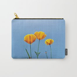 Poppy Daydream Carry-All Pouch