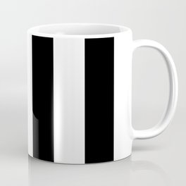 Big Lines Black Coffee Mug