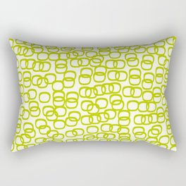 Black Tie Collection Links Olive Rectangular Pillow