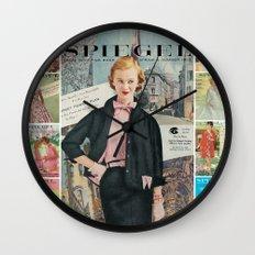 1955 Spring/Summer Catalog Cover Wall Clock