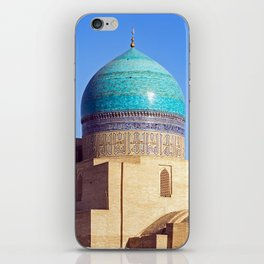 Uzbekistan, Bukhara: Kalyan mosque iPhone Skin