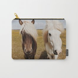 Icelandic Horse #3 Carry-All Pouch