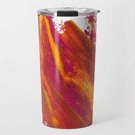 Wings Collection orange/pink Travel Mug