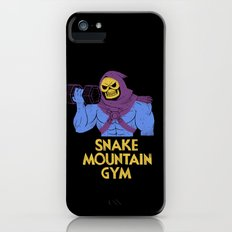 snake mountain gym iPhone (5, 5s) Slim Case