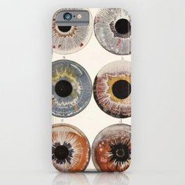 Iris Colors iPhone Case