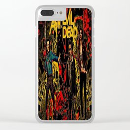 Ash Faces Many Evils Clear iPhone Case