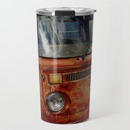 rusted bus Travel Mug