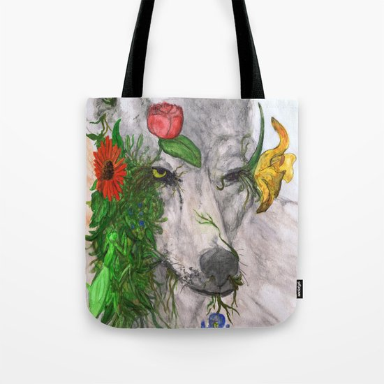"""Wolf's Law"" by Cap Blackard Tote Bag"