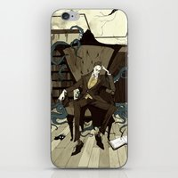lovecraft iPhone & iPod Skins featuring H.P. Lovecraft by Abigail Larson