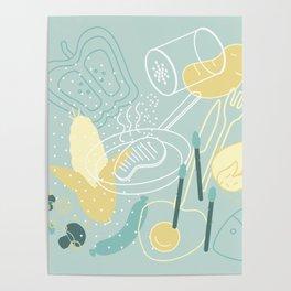 food salad Poster