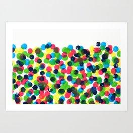 Dot Dot Dot Art Print