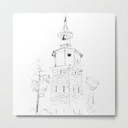 Dryanovo Belfry Metal Print