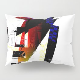 Caricature Pillow Sham