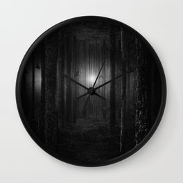 Pressure BW Wall Clock