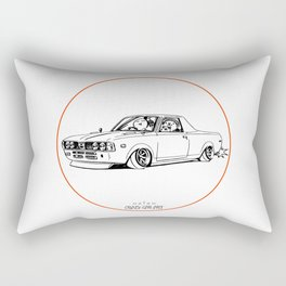 Crazy Car Art 0212 Rectangular Pillow