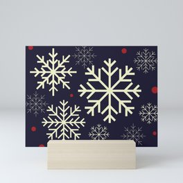 Snowflake Mini Art Print