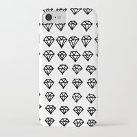 diamonds iPhone & iPod Cases featuring Diamonds by Joe Shmo
