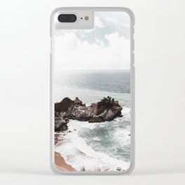 Wild Beach 2 Clear iPhone Case