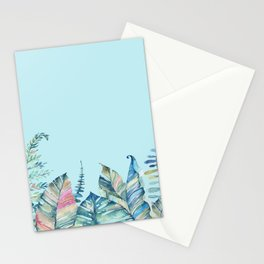 Tropical Sky Stationery Cards