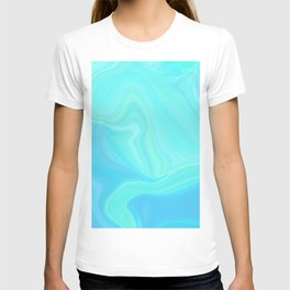 Sea Tones Marble Watercolor T-shirt