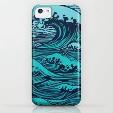 Storming sea iPhone 5c Slim Case