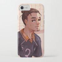 haikyuu iPhone & iPod Cases featuring Haikyuu!! Azumane Asahi by sushishishi