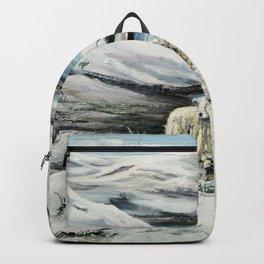 Snowed in'ya Backpack