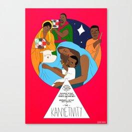 The Westivity Canvas Print