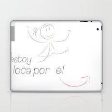love (her) Laptop & iPad Skin