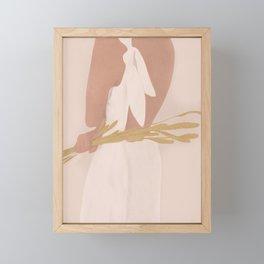 Field Girl Framed Mini Art Print