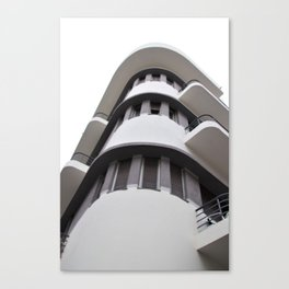 Bauhaus style rounded corners Canvas Print