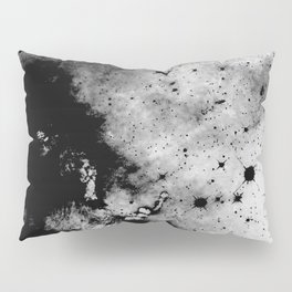 War - Abstract Black And White Pillow Sham