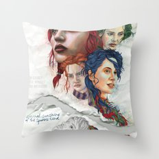 Eternal Sunshine Throw Pillow