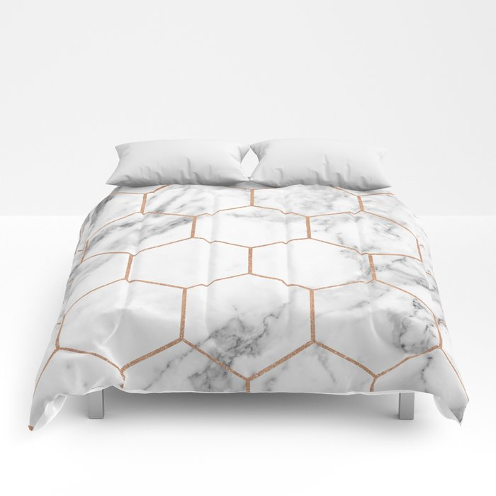 Queen Bed With Marble