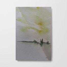 Bridge landscape Metal Print