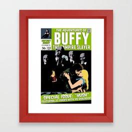 "Special Issue: ""Hush"" Framed Art Print"