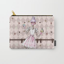 Pastel Cupcake Dessert Girl Carry-All Pouch