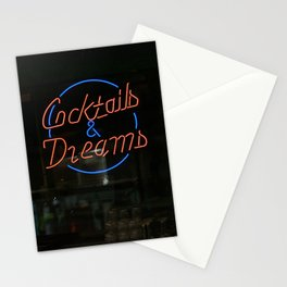 COCKTAILS & DREAMS Stationery Cards