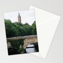 The Kelvingrove in Glasgow, Scotland Stationery Cards